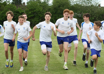 Sport Relief—Forest students went the extra mile