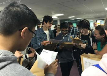 Celebrations at Forest for GCSE results 2018