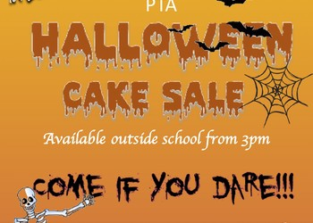 PTA Spooky Cake Sale - 31st October from 3:00pm