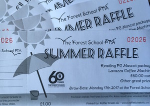 Raffle tickets summer 2017