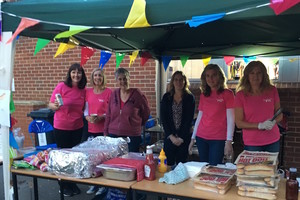 Selling refreshments on the sept 2017 open eve