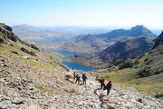 Hiking welsh three peaks hik