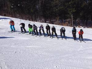 Ski group italy tonale 2018