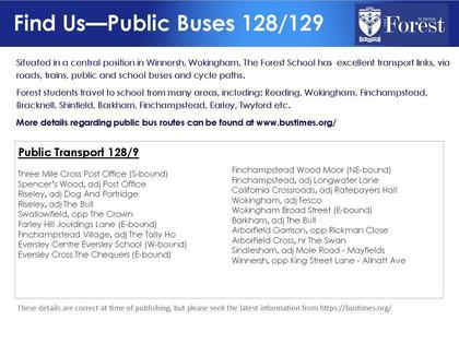 School buses information 128 9