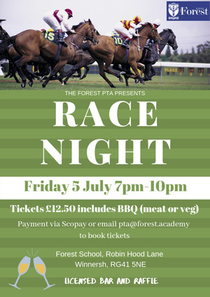 Race night advert june 2019