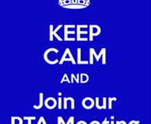Pta meeting september 2020
