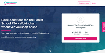 Easyfundraising fpage ap 2020
