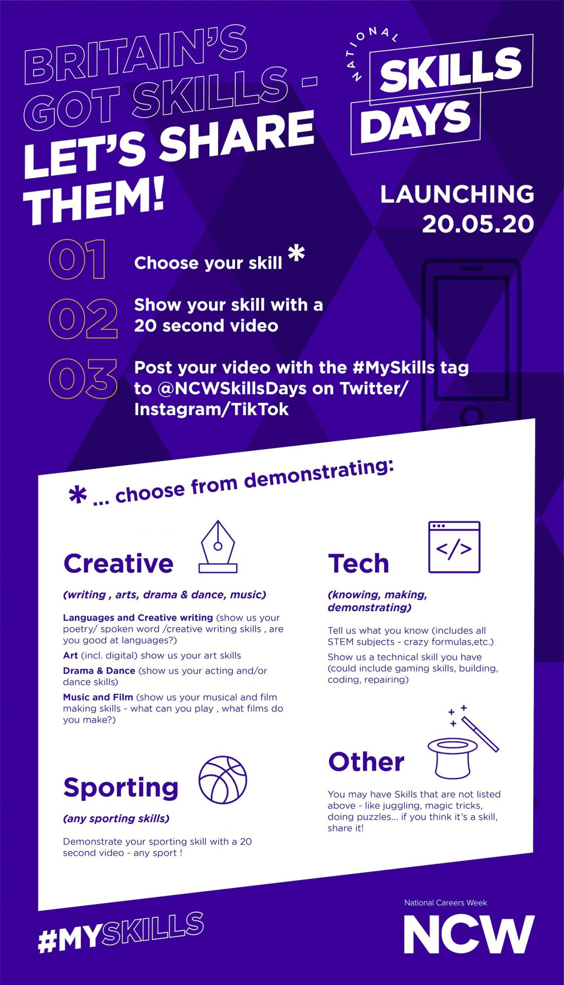 Ncw skills days launch poster 1 scaled