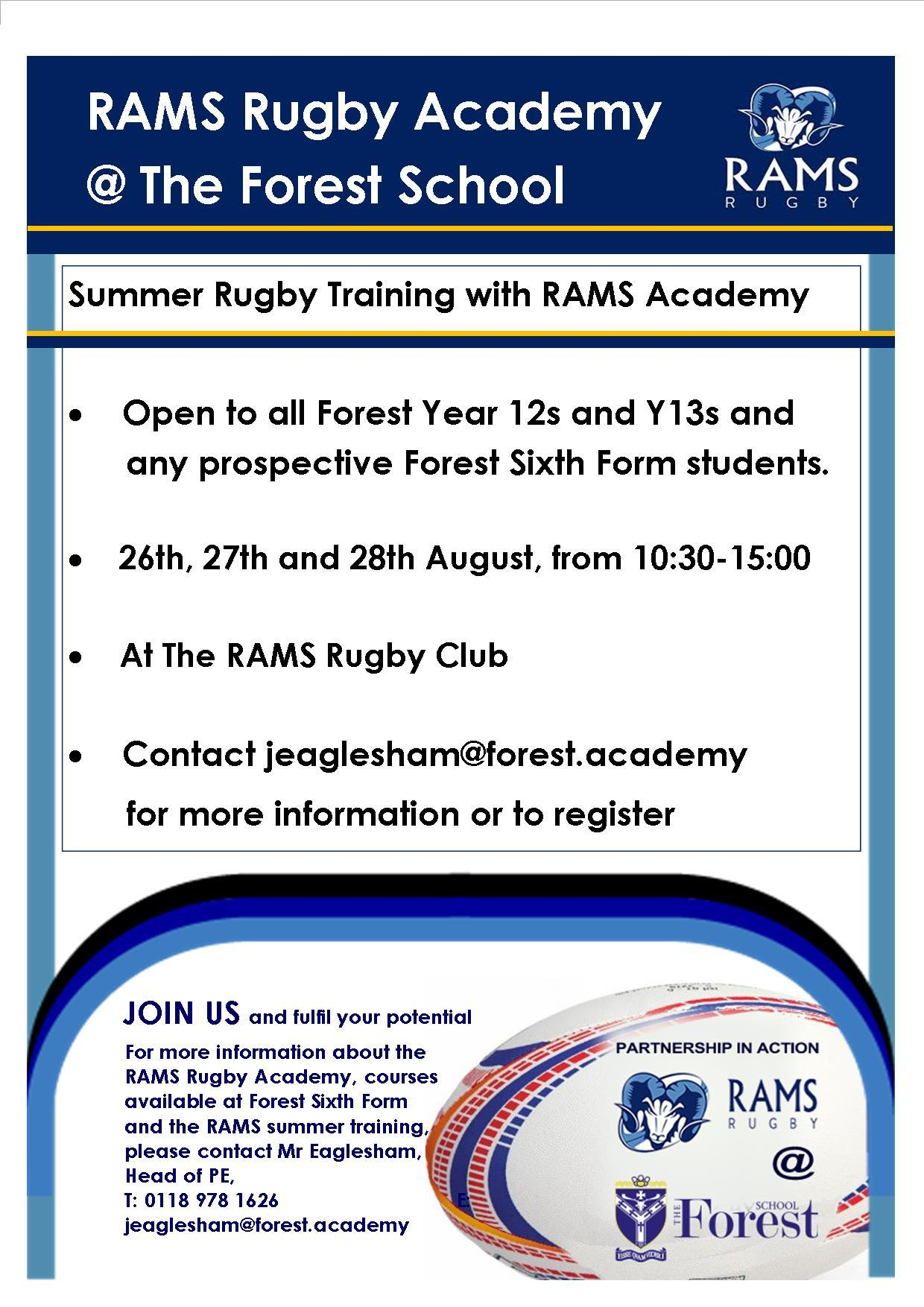 RAMS RUGBY training Camp August 2020 JE 1030